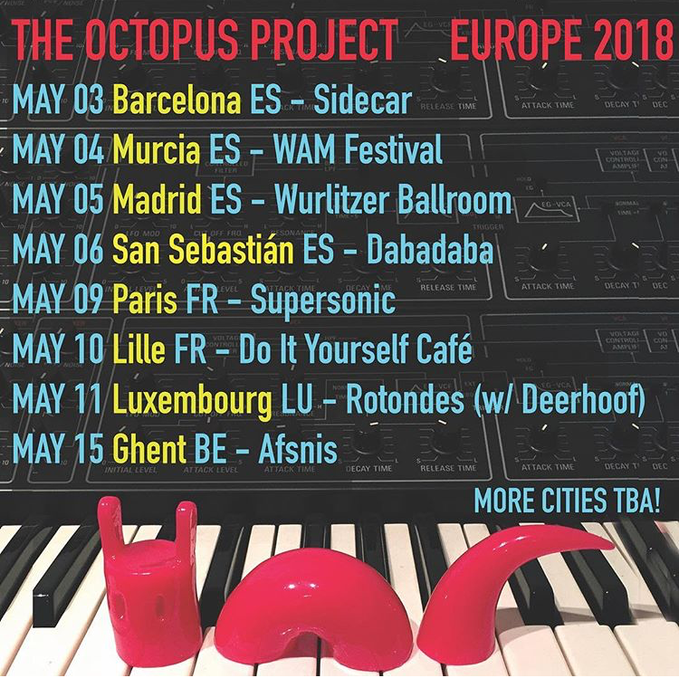 The Octopus Project News